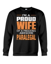 PROUD WIFE - PARALEGAL Crewneck Sweatshirt thumbnail