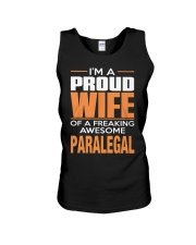 PROUD WIFE - PARALEGAL Unisex Tank thumbnail