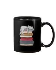 Cat And Book Mug thumbnail