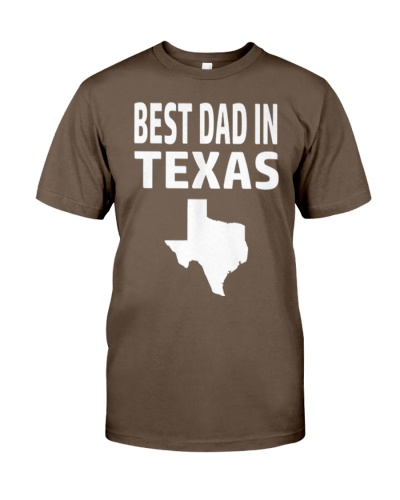 Best Dad in Texas Fathers Day Gift