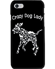 Crazy Dog Lady T-Shirt UK Phone Case thumbnail