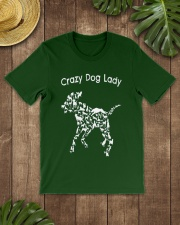 Crazy Dog Lady T-Shirt UK Classic T-Shirt lifestyle-mens-crewneck-front-18