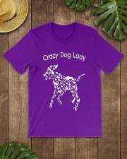 Crazy Dog Lady T-Shirt UK Classic T-Shirt lifestyle-mens-crewneck-front-18