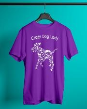 Crazy Dog Lady T-Shirt UK Classic T-Shirt lifestyle-mens-crewneck-front-3