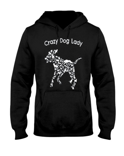 Crazy Dog Lady T-Shirt UK