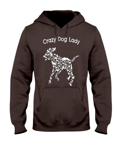 Crazy Dog Lady T-Shirt UK