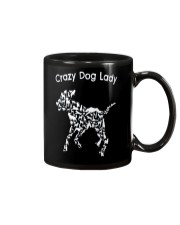 Crazy Dog Lady T-Shirt UK Mug thumbnail