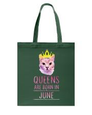 June Queens Cat Are Born In  Tote Bag thumbnail