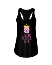 June Queens Cat Are Born In  Ladies Flowy Tank thumbnail