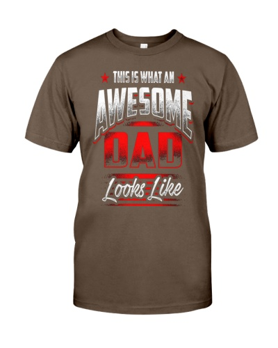 Awesome Dad Fathers day T-Shirt