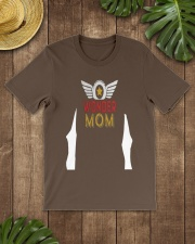 Super Hero Mama T-shirt for Mothers Day Gift Classic T-Shirt lifestyle-mens-crewneck-front-18