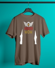 Super Hero Mama T-shirt for Mothers Day Gift Classic T-Shirt lifestyle-mens-crewneck-front-3