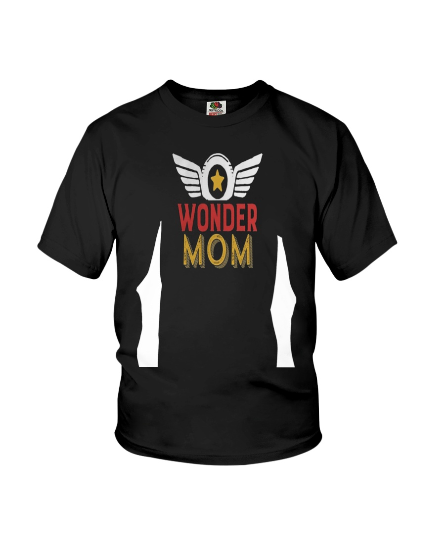 Super Hero Mama T-shirt for Mothers Day Gift Youth T-Shirt showcase