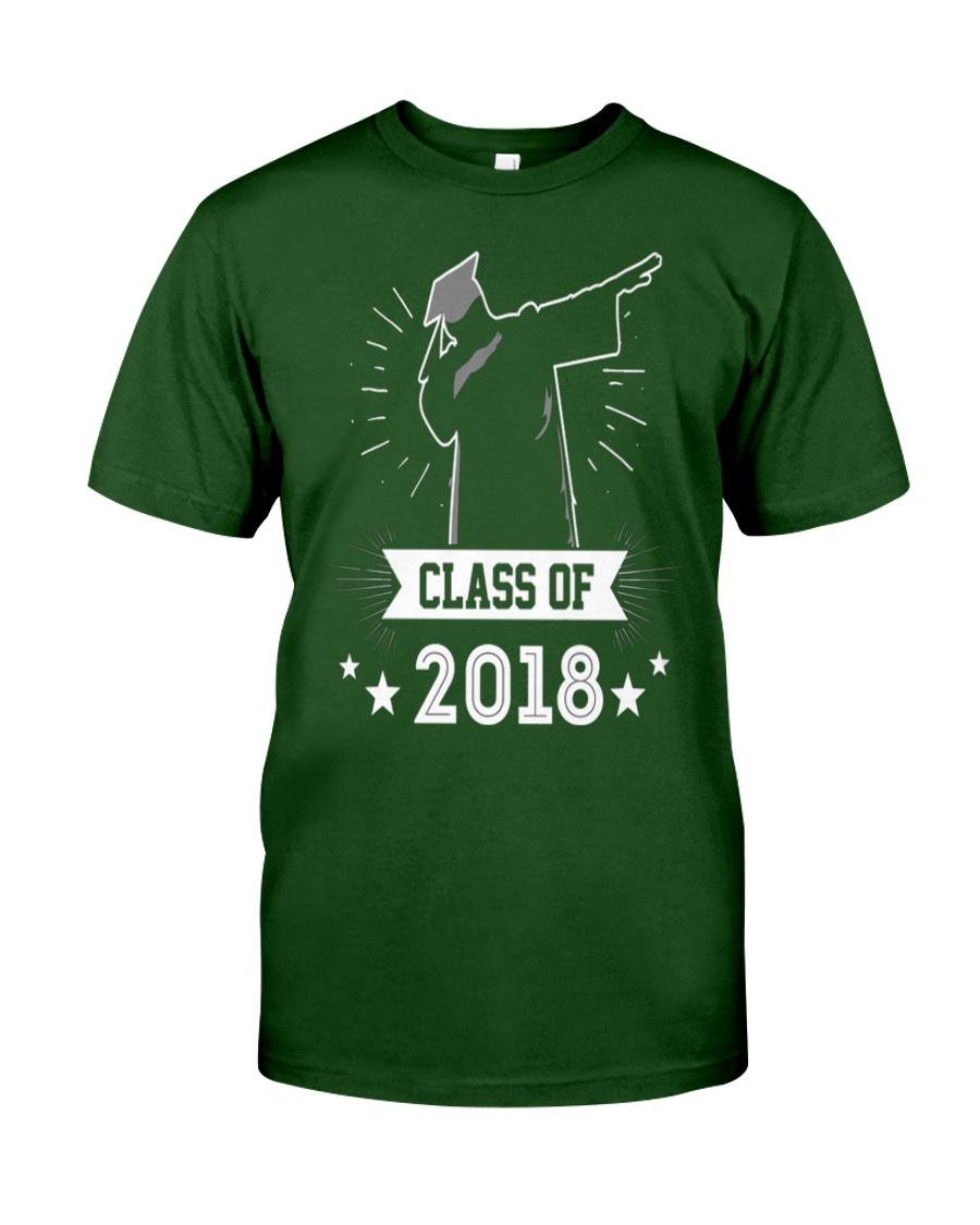 Graduation Class Of 2018 Graduate Classic T-Shirt showcase