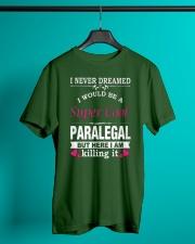 SUPER COOL PARALEGAL Classic T-Shirt lifestyle-mens-crewneck-front-3