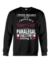 SUPER COOL PARALEGAL Crewneck Sweatshirt thumbnail