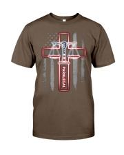 Proud Paralegal Shirt Classic T-Shirt front