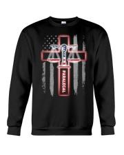 Proud Paralegal Shirt Crewneck Sweatshirt thumbnail