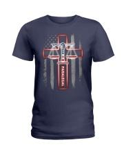 Proud Paralegal Shirt Ladies T-Shirt thumbnail