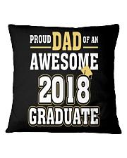 High School Graduation Shirt Gift Colleg Square Pillowcase thumbnail
