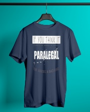 TRY HIRING PARALEGAL Classic T-Shirt lifestyle-mens-crewneck-front-3