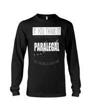 TRY HIRING PARALEGAL Long Sleeve Tee thumbnail