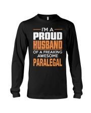 PROUD HUSBAND - PARALEGAL Long Sleeve Tee thumbnail