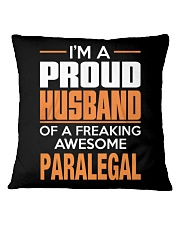 PROUD HUSBAND - PARALEGAL Square Pillowcase thumbnail