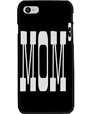 Mom of three - Mothers Day Phone Case thumbnail