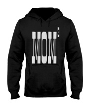 Mom of three - Mothers Day Hooded Sweatshirt thumbnail
