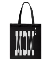 Mom of three - Mothers Day Tote Bag thumbnail