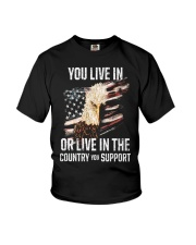 PATRIOTIC - Support the Country M 0032 Youth T-Shirt thumbnail