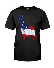 Patriotic Dachshund Classic T-Shirt thumbnail
