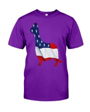 Patriotic Dachshund Classic T-Shirt front