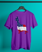 Patriotic Dachshund Classic T-Shirt lifestyle-mens-crewneck-front-3