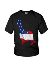 Patriotic Dachshund Youth T-Shirt tile