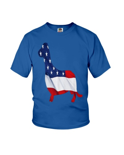 Patriotic Dachshund