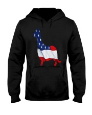 Patriotic Dachshund Hooded Sweatshirt thumbnail