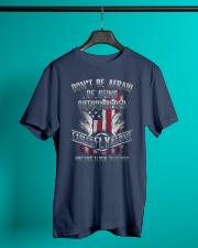 PATRIOTIC - Outnumbered M 0036 Classic T-Shirt lifestyle-mens-crewneck-front-3