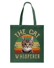 Cat Shirt The Cat Whisperer Vintage Style  Tote Bag thumbnail