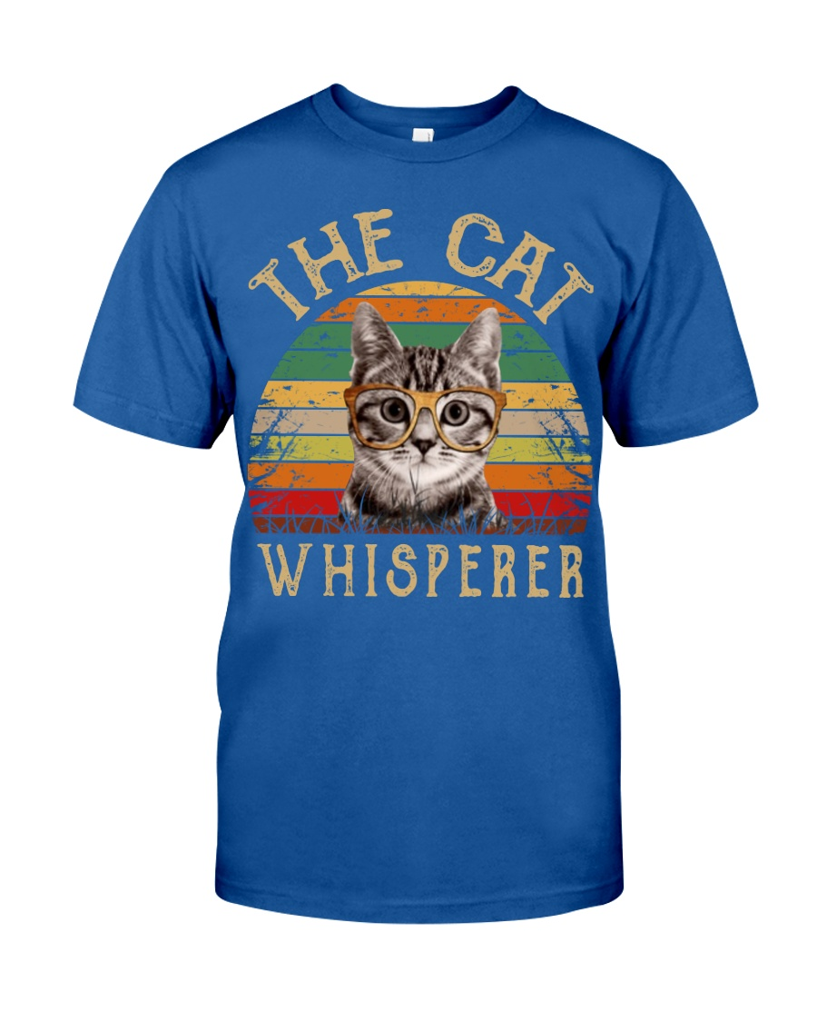 Cat Shirt The Cat Whisperer Vintage Style  Classic T-Shirt
