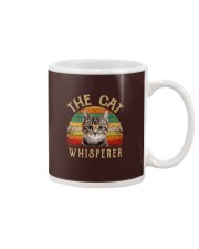 Cat Shirt The Cat Whisperer Vintage Style  Mug thumbnail