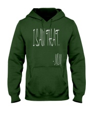 I saw that  - MOM - Mothers Day Hooded Sweatshirt front