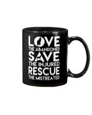 DOG-RESCUE-TEE-ANIMAL-CAT-RESCUE-SHIRT-L Mug thumbnail