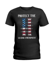 PATRIOTIC - Protect the Second M 0036 Ladies T-Shirt thumbnail