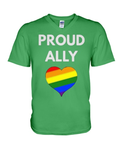 Proud Ally t-shirt - LGBT Pride