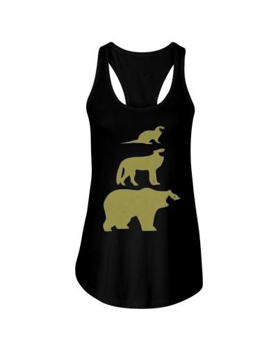 Otter Wolf Bear Gay Slang LGBT Pride T-Shirt