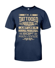 TATTOOED PARALEGAL T SHIRTS Classic T-Shirt front