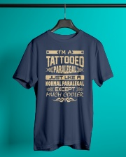 TATTOOED PARALEGAL T SHIRTS Classic T-Shirt lifestyle-mens-crewneck-front-3