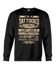 TATTOOED PARALEGAL T SHIRTS Crewneck Sweatshirt thumbnail